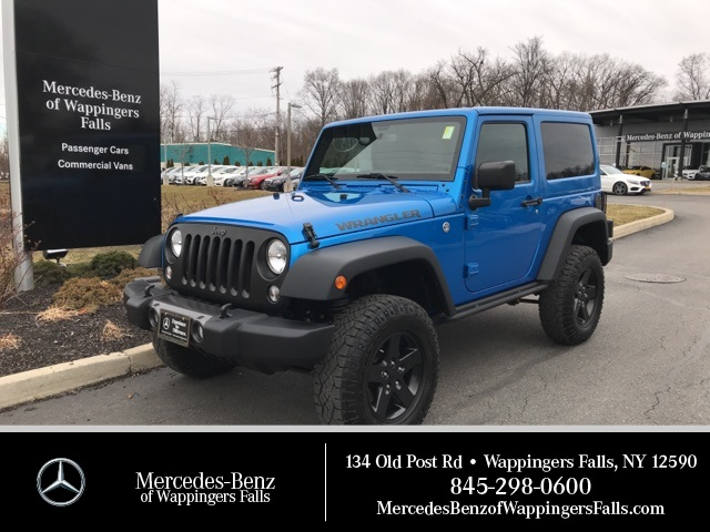 Pre-Owned 2016 Jeep Wrangler Black Bear