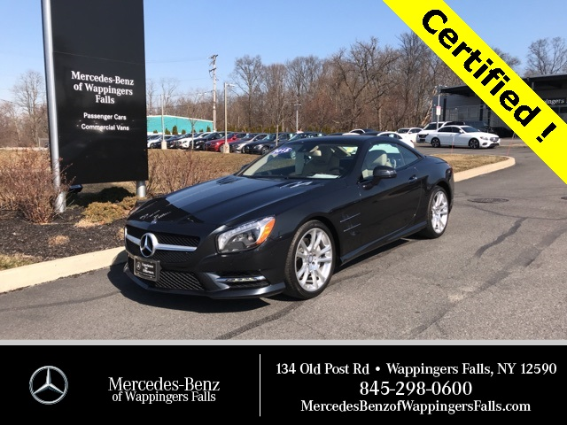 Certified Pre-Owned 2015 Mercedes-Benz SL SL 400