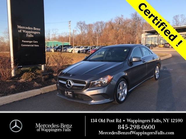 Certified Pre-Owned 2017 Mercedes-Benz CLA 250 AWD 4MATIC®