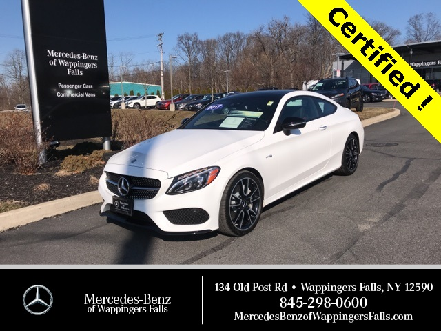 Certified Pre-Owned 2017 Mercedes-Benz C-Class AMG® C 43 Coupe AWD 4MATIC®