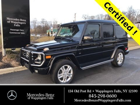 Certified Pre-Owned 2014 Mercedes-Benz G-Class G 550